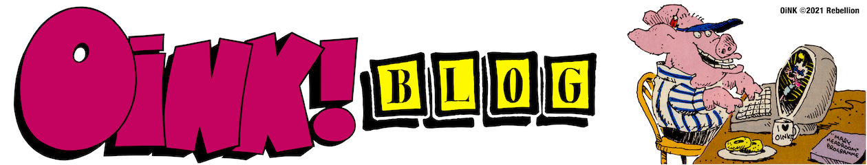 OiNK BLOG – REAL TiME READiNG OF CLASSiC COMiCS