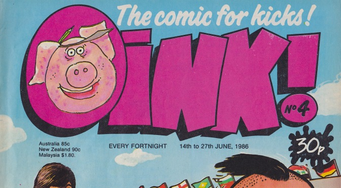 COMiNG UP: OiNK! #4