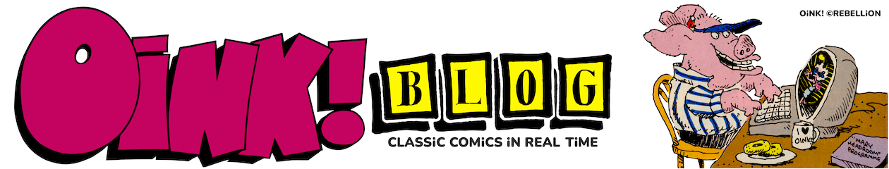 OiNK BLOG – CLASSiC COMiCS iN REAL TiME