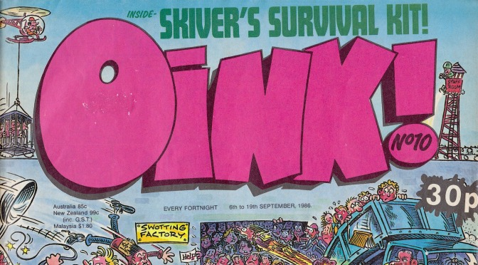 COMiNG UP: OiNK! #10